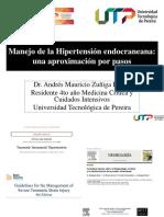 6 Manejo de Hipertensión Endocraneana Aproximación Por Pasos