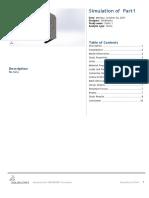 report simulation static solidwork