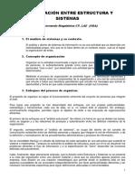 Estructura y Sistema. Interrelaciones -Fernando g. Magdalena--1