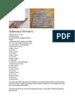 Sideways Wristers.docx