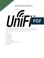 Installing Ubiquiti Unifi Controller on CentOS 6