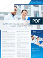 Nous Strategy on NONMEM PK/PD Program for Clinical Research Data Analysis