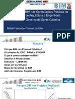 5 SPU - Seminário BIM - Rafael Fernandes - Santa Catarina