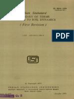 Is-Code2801 Soil Dyanamic Code