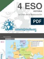 09.1 Adh4eso España Crisis de La Restauracion