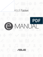 Asus Zzenpad 3S, user manual