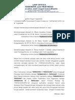 Surat Permohonan Intervensi