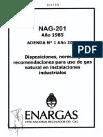 NAG 201 - Capitulo VII Año 2016