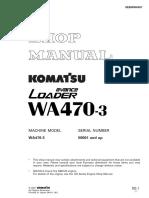 Shop manual WA470-3_sn50001and-Up