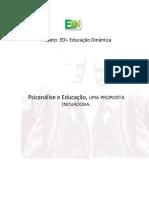 Projeto- Psicanalise e Educação