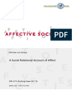 VON SCHEVE 2016 2017 A Social Relational Account of Affect
