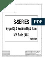Hp Compaq 6531s - Inventec Zzi Mv - Rev a03