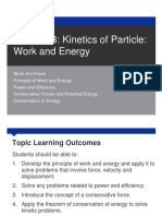 Chapter 3 Kinetics of Particle - Work and Energy