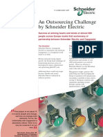 An Outsourcing Challenge by Schneider Electric