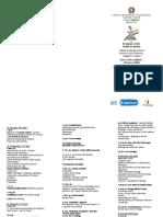 Program for Catania-leaflet