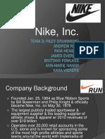 Final Nike Powerpoint