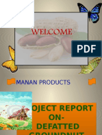 MANAN..Defatted Groundnut Cake Products. (1)