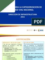Criterios Para La Categorizacion de La Red Vial Nacional