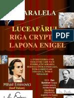 Paralela Luceafarul - Riga Crypto 8 Mai 2016
