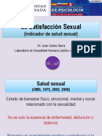 Satisfacción Sexual Como Indicador de Salud Sexual