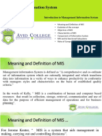 Lecture 1_ Introducation to MIS
