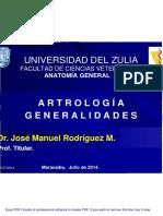 Generalidades de Artrología