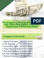 Penerapan 5 Prinsip Anti Korupsi Dan Nilai-Nilai