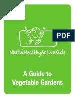 Vegetable Gardening Booklet