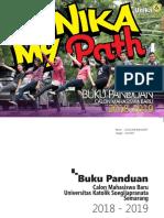 Buku Panduan Calon Mahasiswa Baru 2018 2019