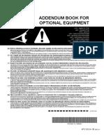 Addendum Book for Optional Equipment_4P318524-1B_Installation Manuals_English