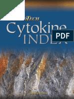 Cytokine Index - Peprotech