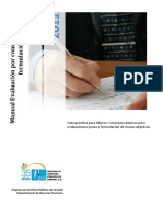 Manual Para Formulación de Metas y Evaluación Por Competencias
