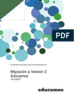 Información Migración Versión 2 - Educamos
