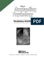 Understanding Psychology. Vocabulary Activities