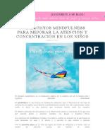 312534914 10 Ejercicios Mindfulness Para Mejorar La Atencion y Concentracion en Los Ninos
