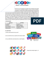 Handout - Social Networking