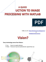 Introduction to Image Processing With Matlab