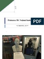 Concepte Generale Despre 3D Printing