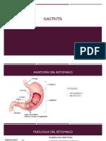 Gastritis fisiopatologia