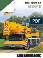 Liebherr Product Advantage Mobile Crane 210 Ltm 1200-5-1 Pn 210 00 s02 2014