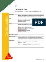 HT - Sarnafil F 610-12 Felt - SIKA