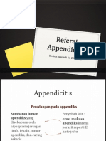 Referat Appendicitis Anak