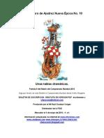 10- Bucanero de Ajedrez Boletin 10