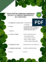 Introducción a Las Ciencias Agrarias Informe