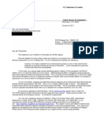 FBI eFOIA Response
