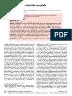 Assesment Endometrial Receptivity