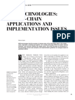 Rfid Technologies- Supply-chain Applications and Implementation Issues