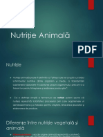 Nutriție Animală