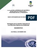 Estrategia Para GIRH en Guatemala