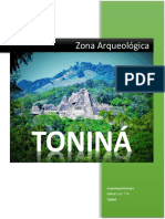 Zona Arqueologica de Toniná